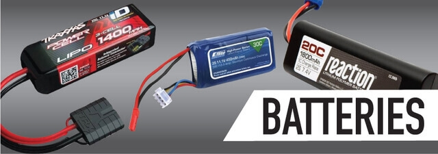 Batteries for Radio Control