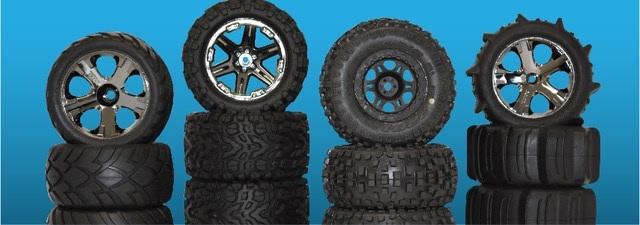 Axial Wraith 1.9 Wheels & Tires