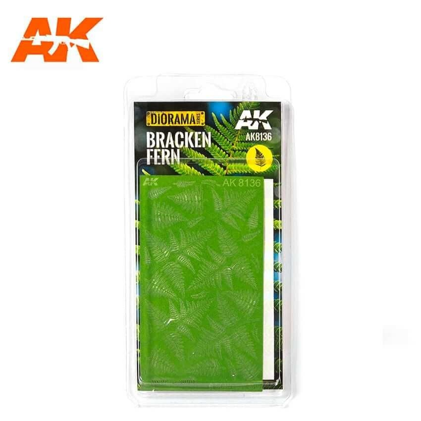 AK Interactive Realistic Bracken Fern Leaves