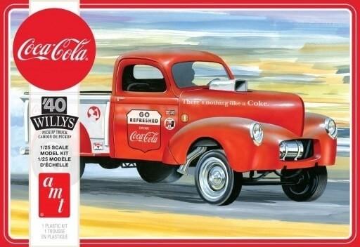 AMT 1:25 1940 Willy's Pickup Gasser Plastic Model Kit