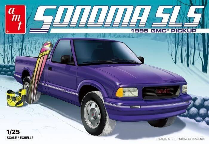 AMT 1:25 1995 GMC Sonoma Pickup 2T Plastic Model Kit