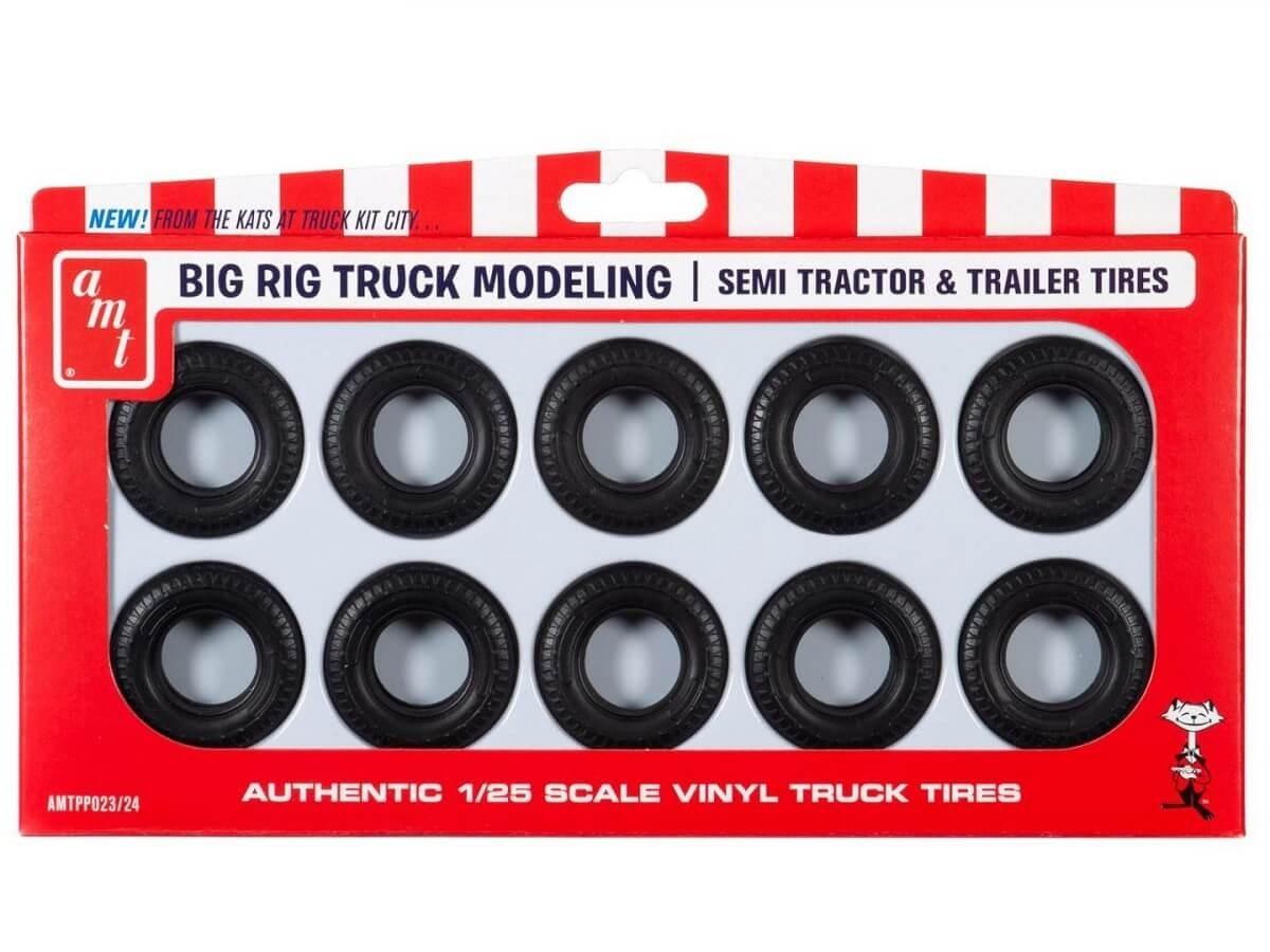 AMT 1:25 Big Rig Tire Parts Pack