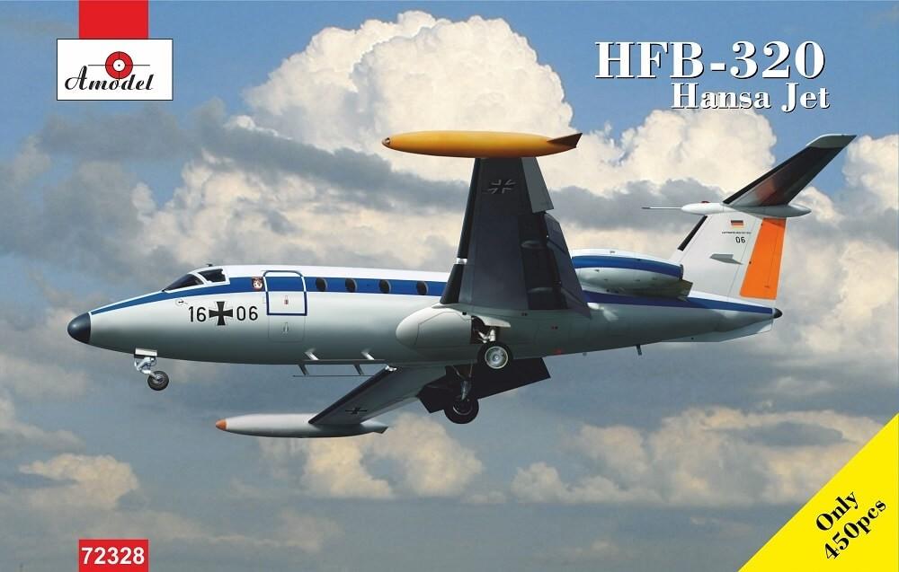 A Model 1/72 HFB320 Hansa Lufthansa Plastic Model Kit
