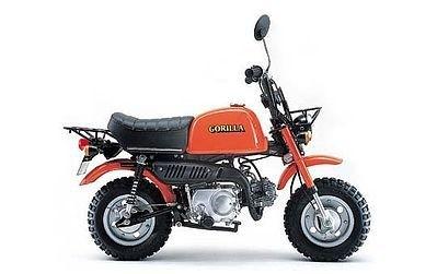 Aoshima Honda Gorilla Z50JIII 1/12th Scale Plastic Model Kit