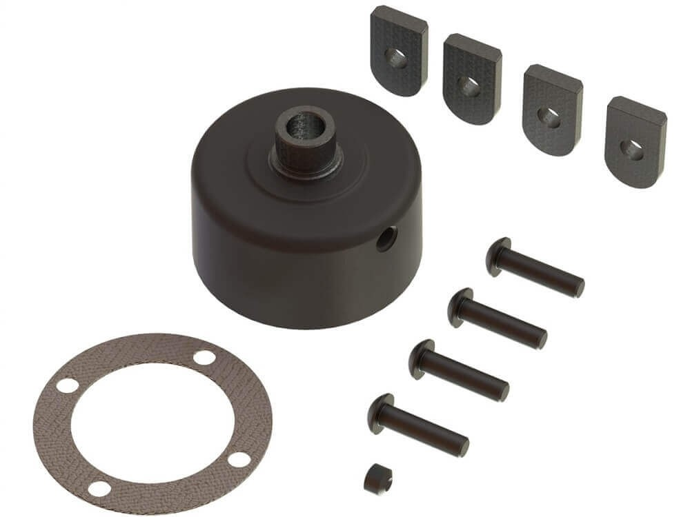 ARRMA Differential Case Set Infraction/Kraton 6S