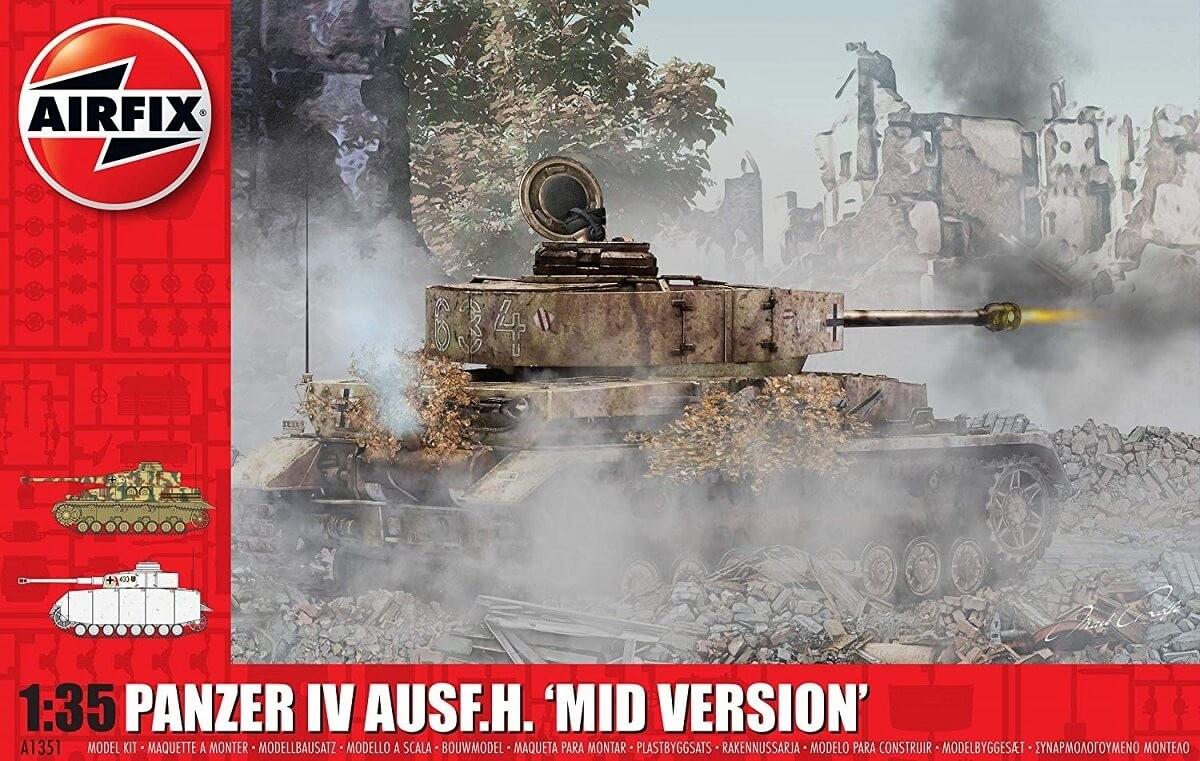 Airfix 1:35 Panzer IV Ausf.H. 'Mid Version' Plastic Model Kit