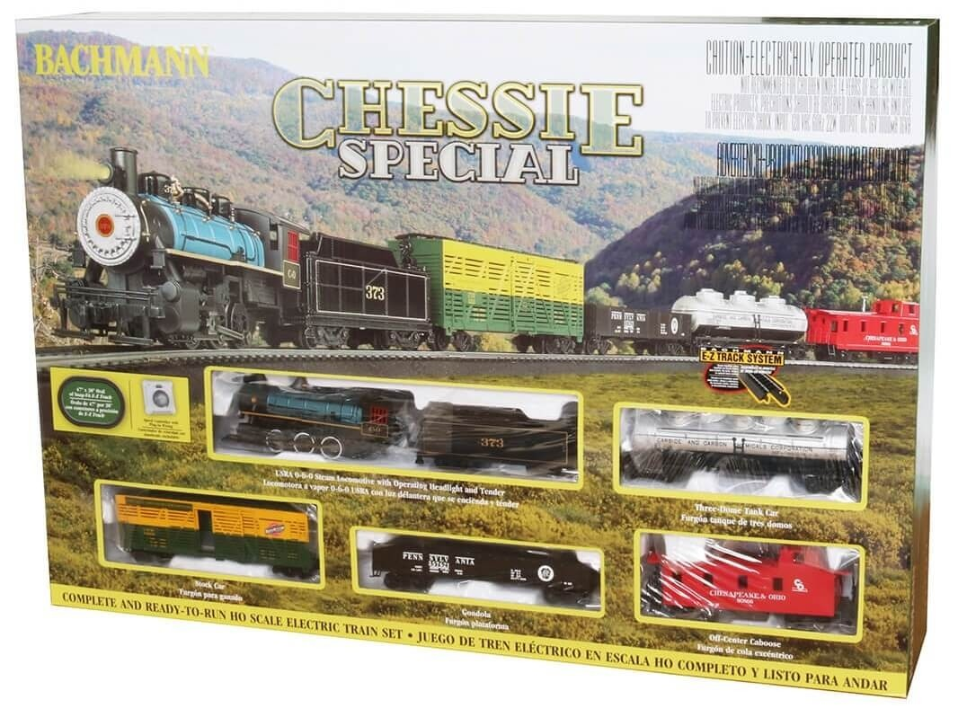 Bachmann HO Scale Chessie Special Train Set