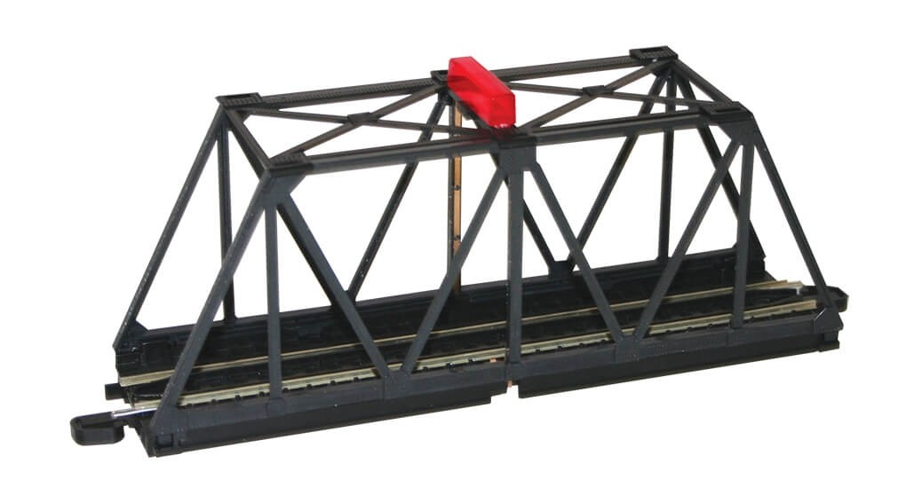 Bachmann HO Scale Built-Up Truss Bridge w/Blinking Light