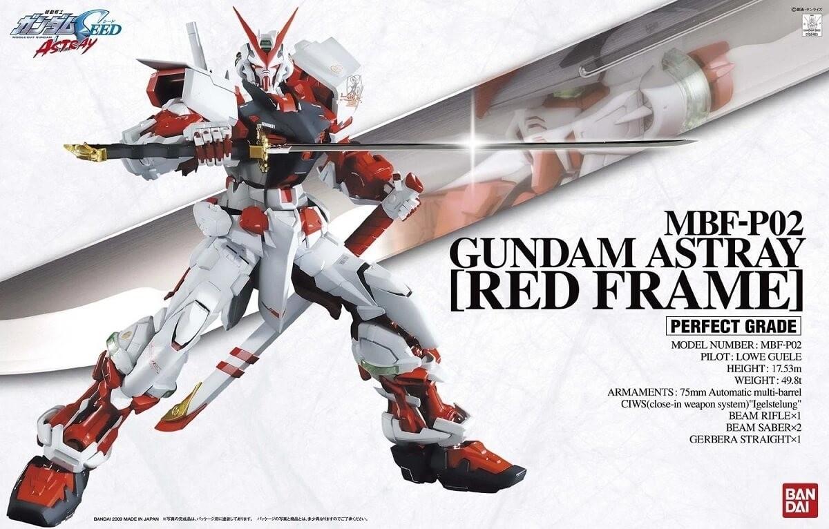 Bandai PG 1:60 Gundam Astray Red Frame Plastic Model Kit