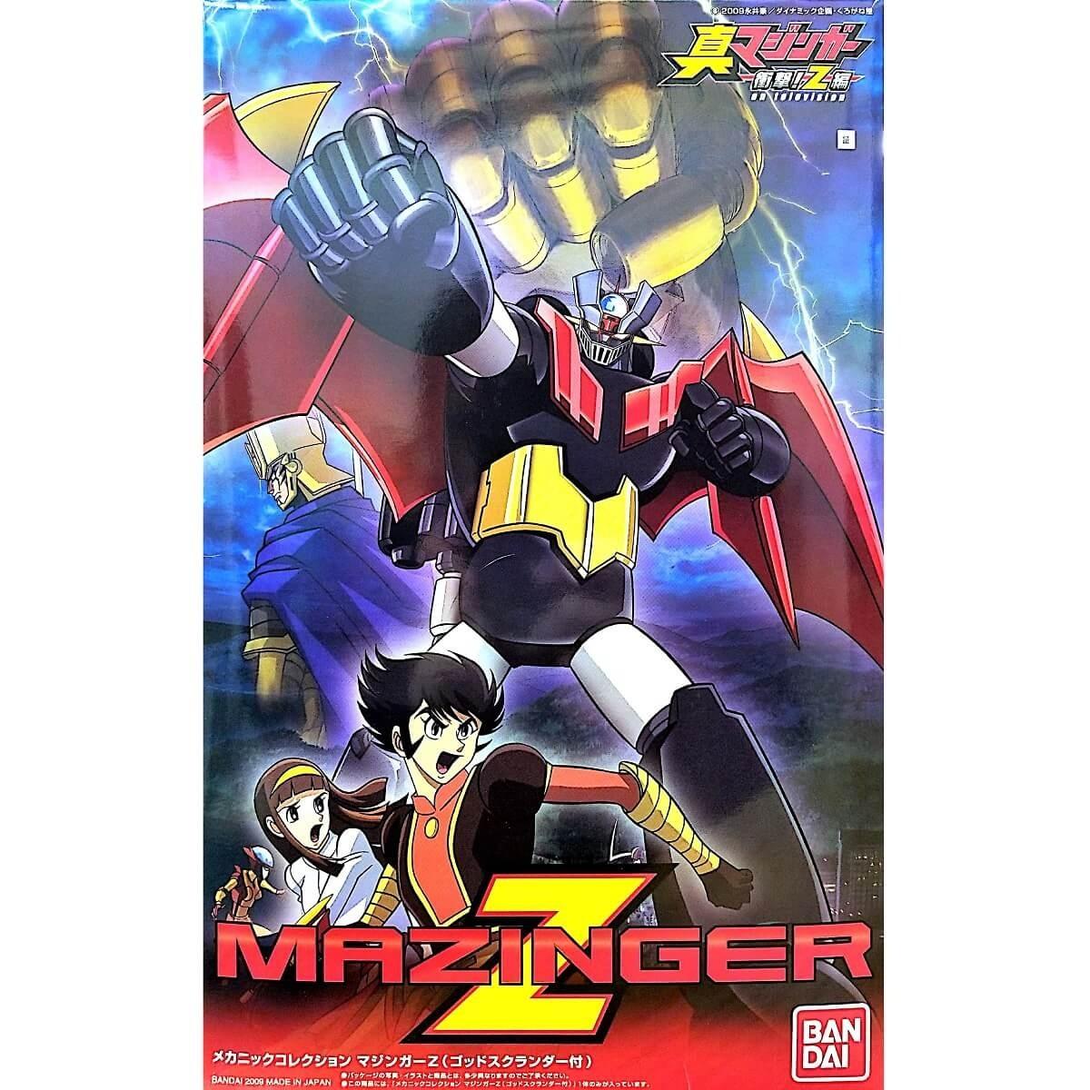 Bandai Mazinger Z with God Scrander Plastic Model Kit