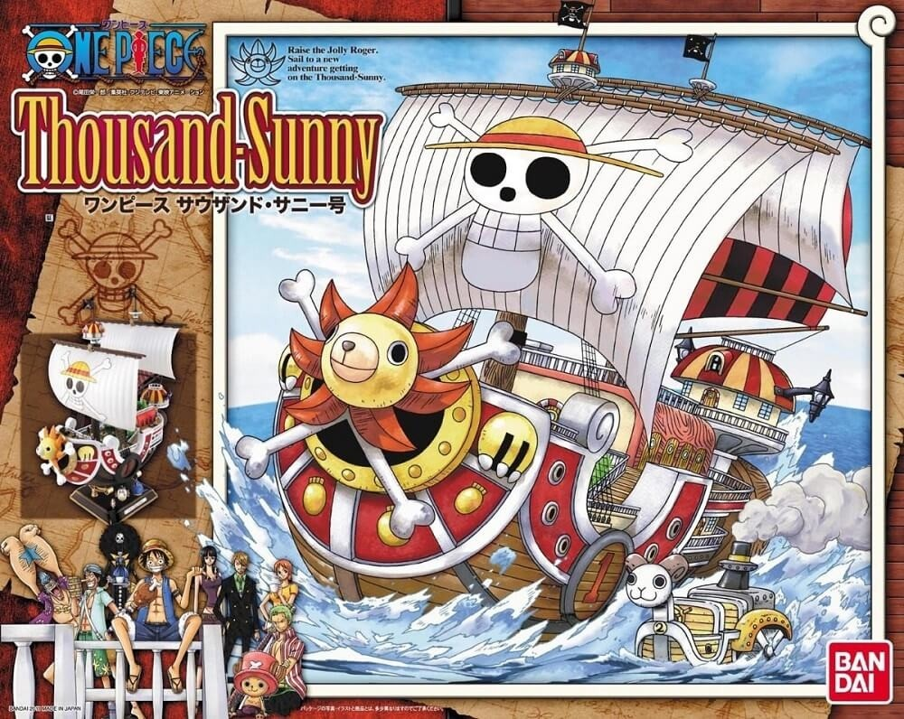 Bandai Thousand Sunny New World Version Plastic Model Kit