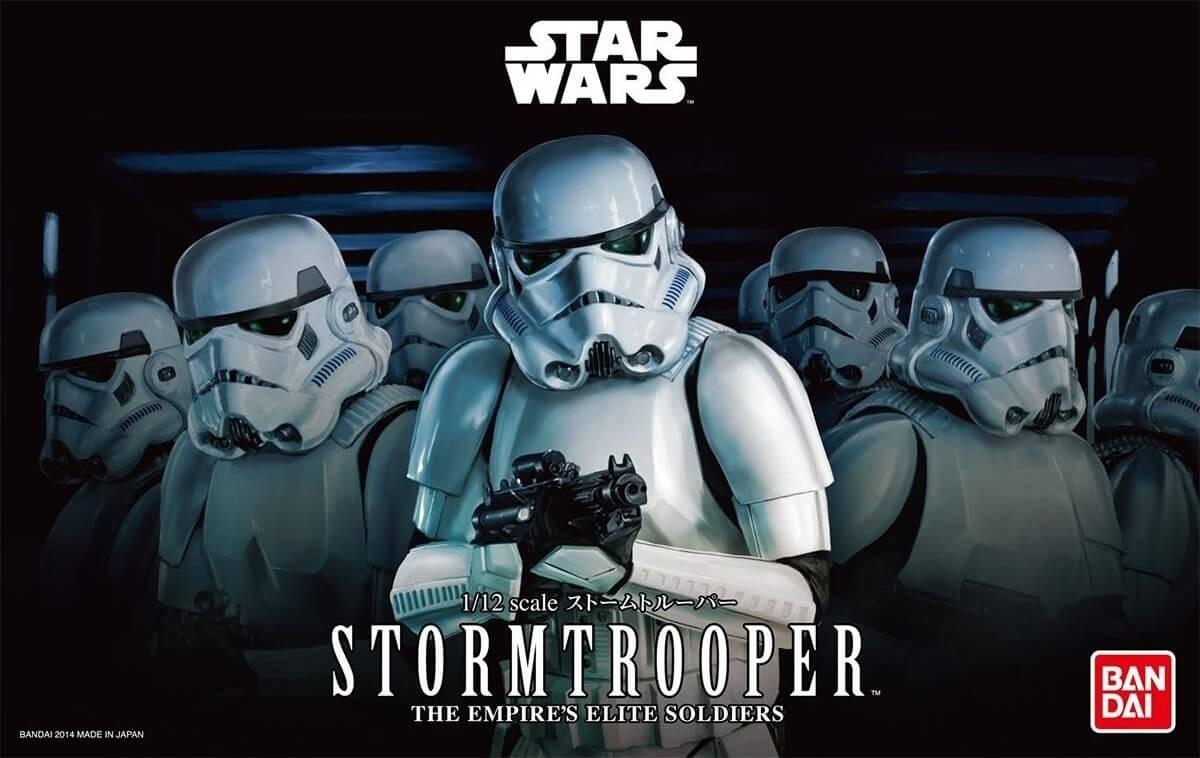 Bandai 1:12 Star Wars Stormtrooper Plastic Model Kit