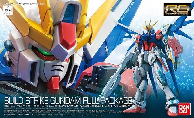 Bandai RG 1/144 #23 Build Strike Gundam Full Package Plastic Model Kit