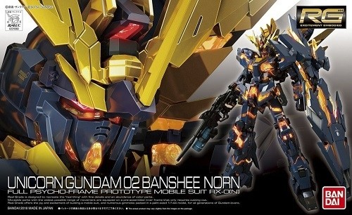 Bandai 1/144 Unicorn Gundam 02 Banshee Norn Plastic Model Kit