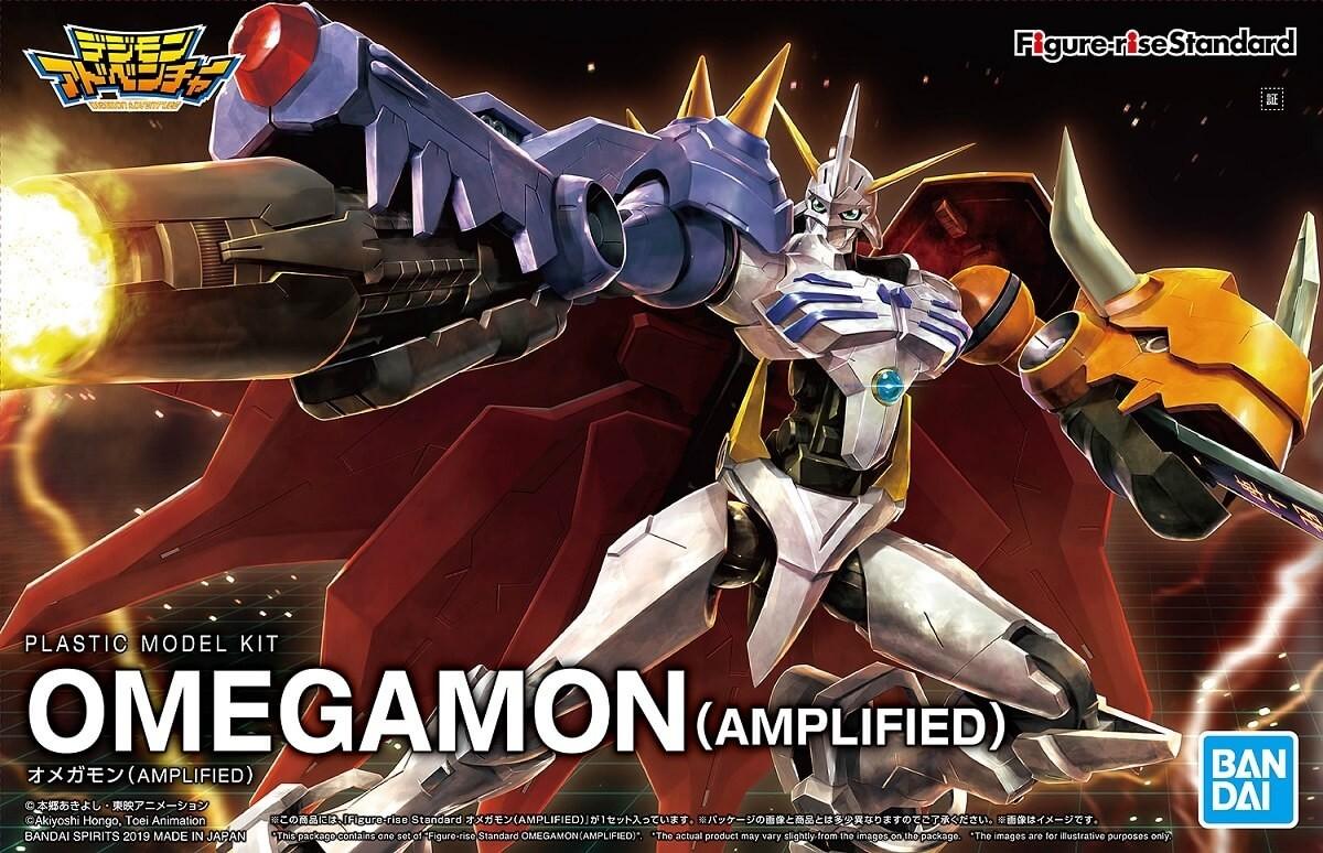 Bandai Figure-rise Standard Omegamon (Amplified) Plastic Model Kit