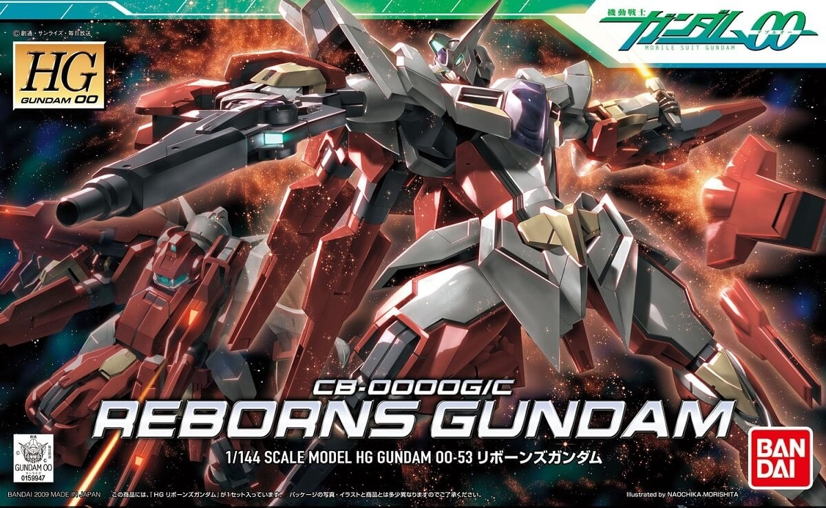 Bandai HG 1:144 Reborns Gundam Plastic Model Kit