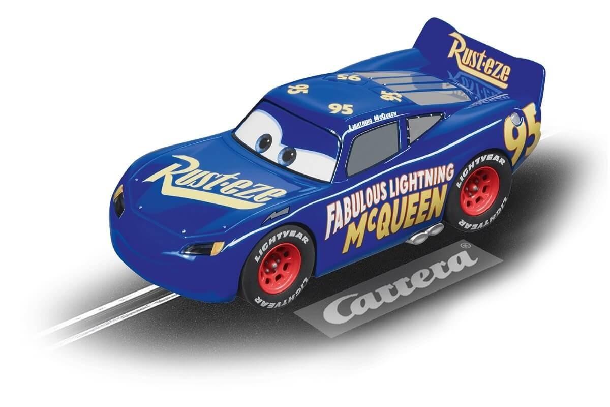 Carrera Digital 132 Fabulous Lightning McQueen Blue 1/32 Scale Slot Car