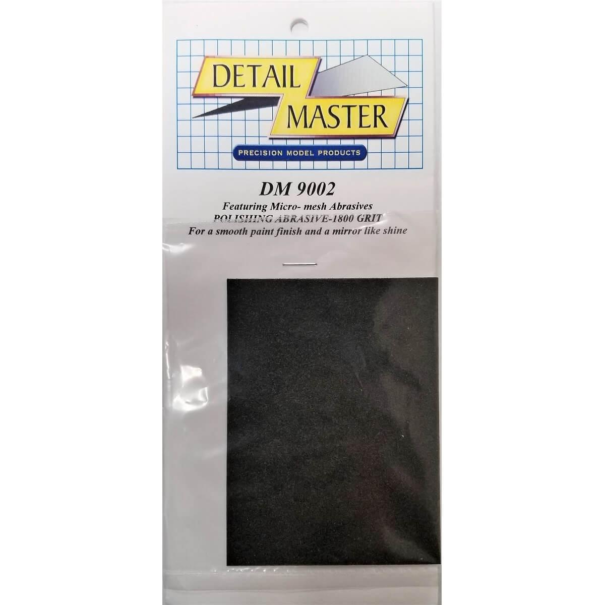 Detail Master 1800 Grit Micro-Mesh Polishing Abrasive
