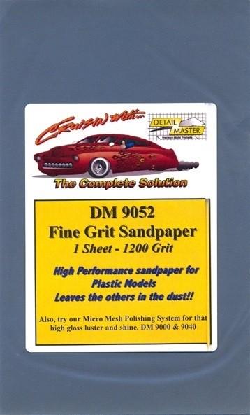 Detail Master Fine 800 Grit Sandpaper