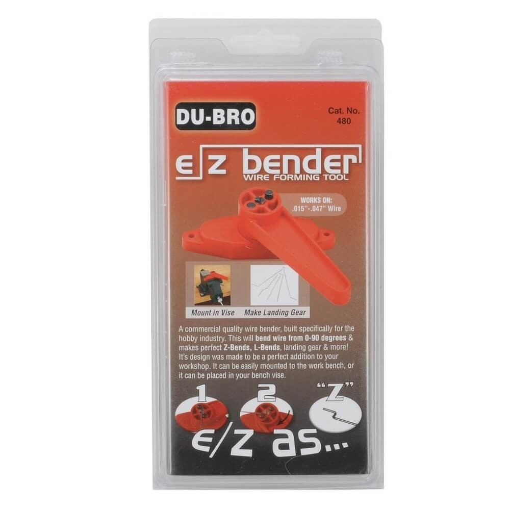 Du-Bro #480 E/Z Bender Wire Forming Tool