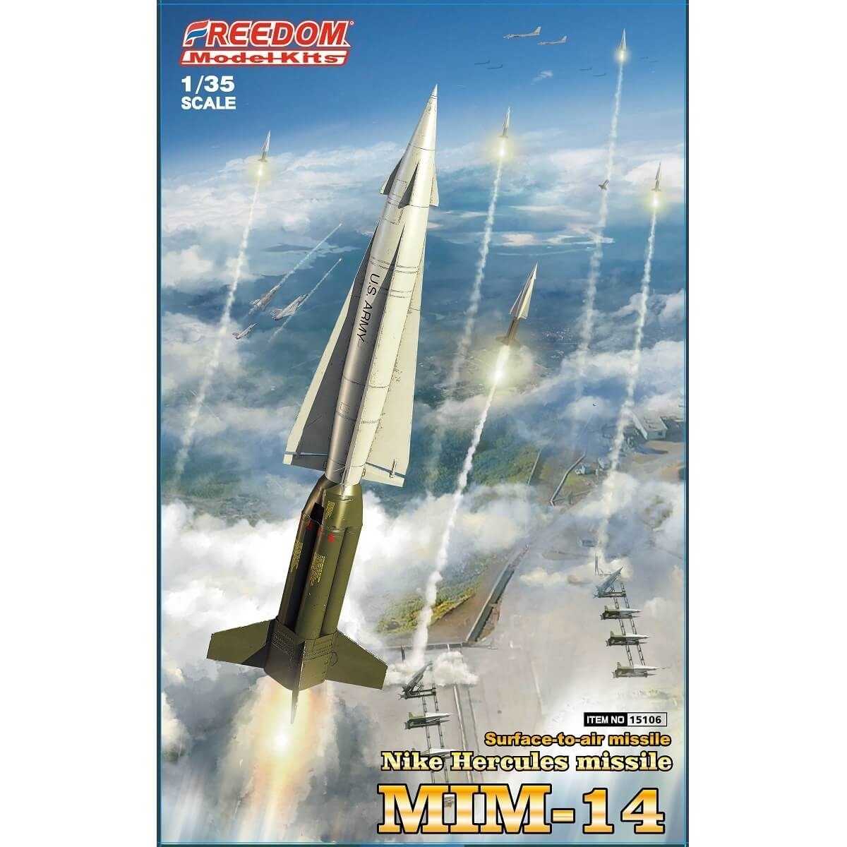 Freedom 1:35 Nike Hercules MIM14 Plastic Model Kit