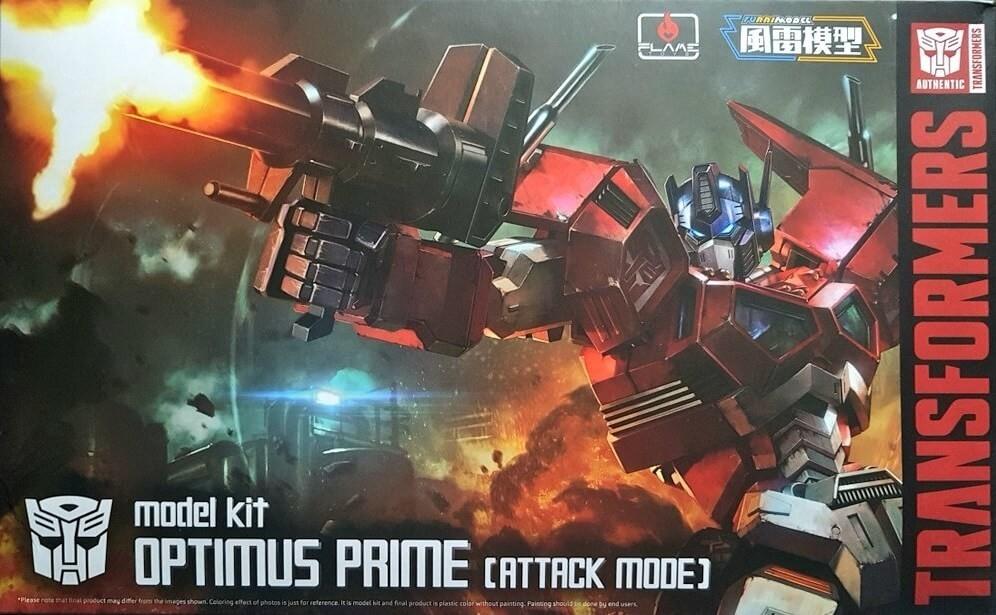 Furai Model Optimus Prime (Attack Mode) Plastic Model Kit