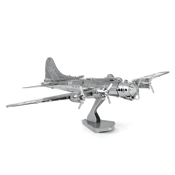 Fascinations Metal Earth B-17 Flying Fortress Boeing Plane Metal Model Kit
