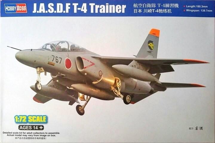 Hobby Boss 1:72 JASDF T-4 Trainer Plastic Model Kit