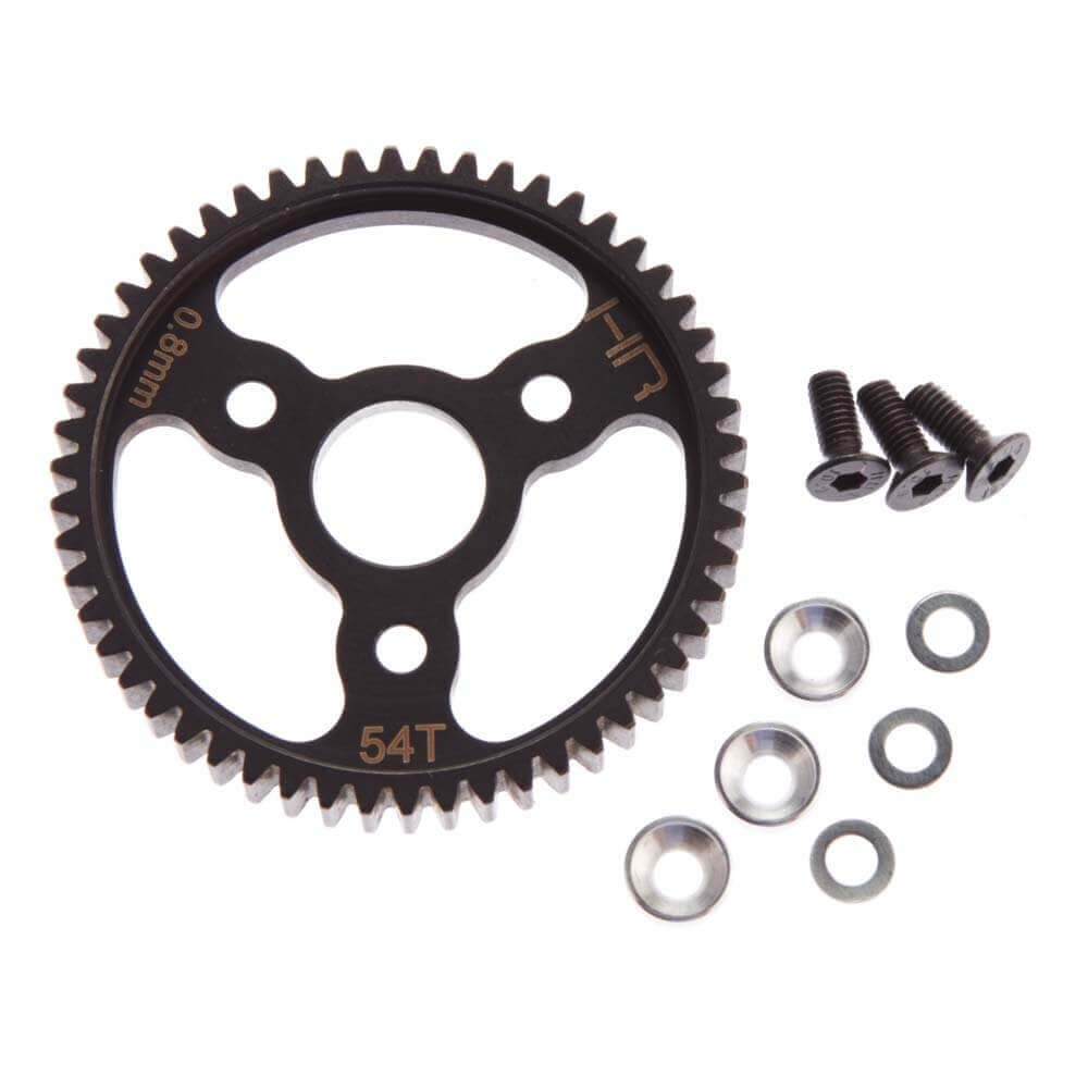 Hot Racing 54 Tooth 0.8 Mod Spur Gear Stampede/Slash 4x4