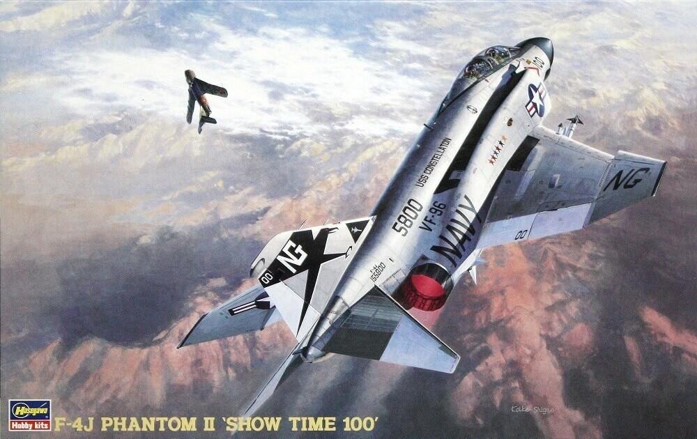 Hasegawa 1/48 F-4J Phantom II Show Time Plastic Model Kit