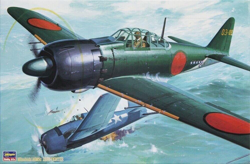 Hasegawa 1/32 A6M5C Zero Fighter Type 52 Zeke Plastic Model Kit