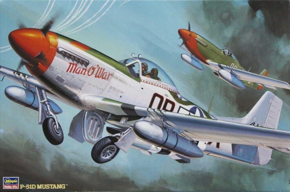 Hasegawa 1/32 P-51D Mustang Plastic Model Kit