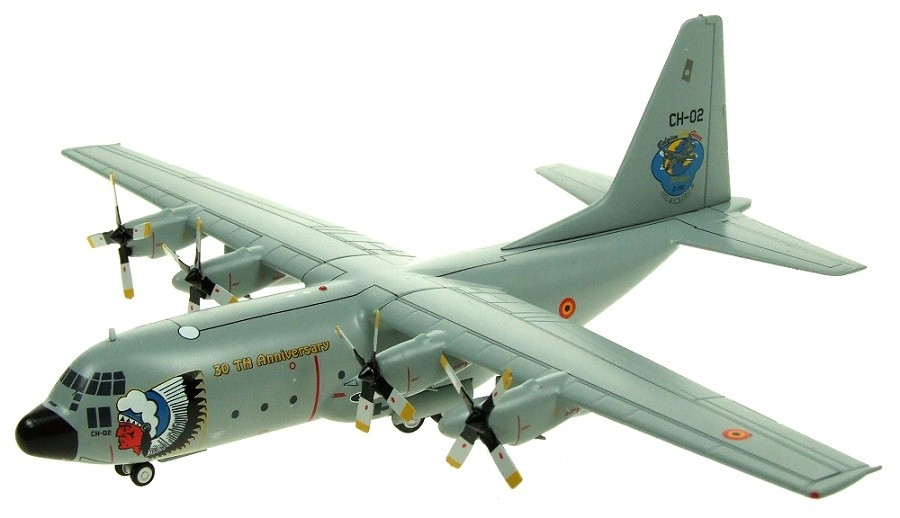 InFlight 1/200 C-130 Belgium AF Die-Cast Model