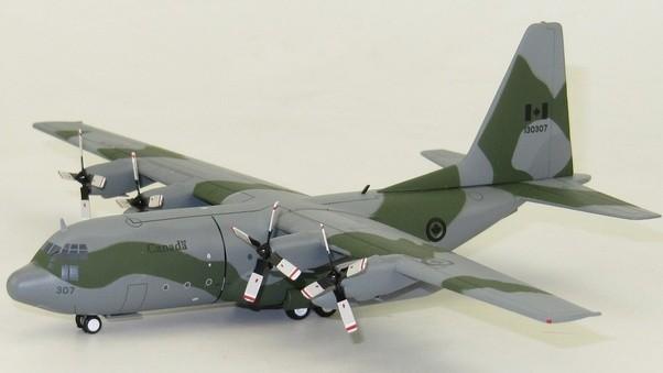 InFlight 1/200 C-130E Canada Die-Cast Model