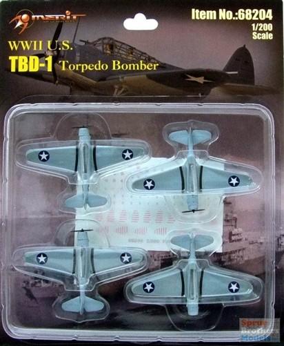 1:200 TBD-1 Torpedo Bomber Model (4)
