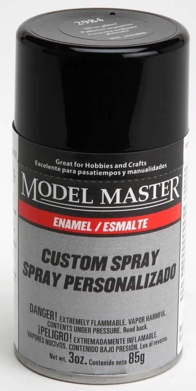 Gloss Silver Glitter 3oz Enamel Spray Paint