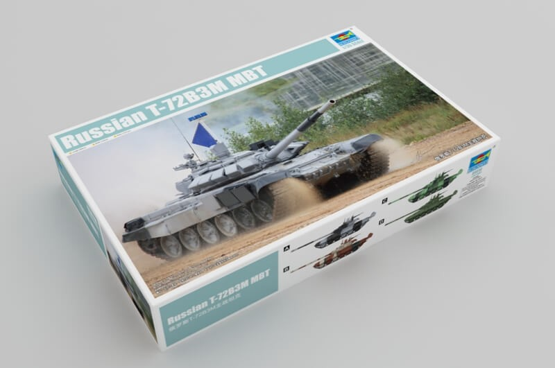 1:35 Russian T-72B3M MBT Tank Plastic Model Kit