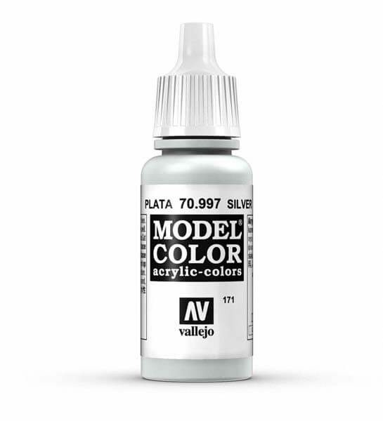 Silver Model Color 17ml Acrylic Paint