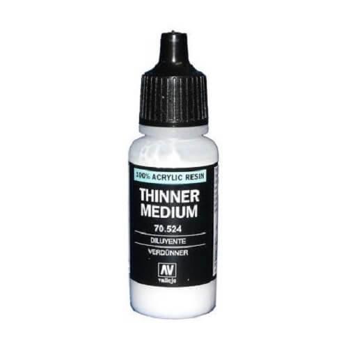 Acrylic Thinner 17ml Bottle