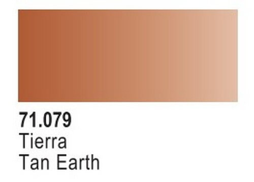 Tan Earth Model Air Color 17ml Bottle Paint