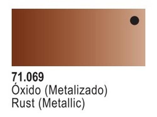 Rust Metallic Model Air Color 17ml Bottle Paint