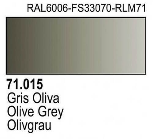 Olive Grey Model Air Color 17ml Bottle Paint