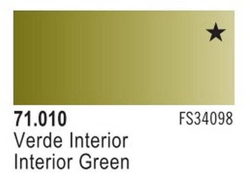 Interior Green Model Air Color 17ml Bottle Paint
