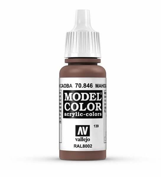 Mahogany Sand Model Color 17ml Acrylic Paint