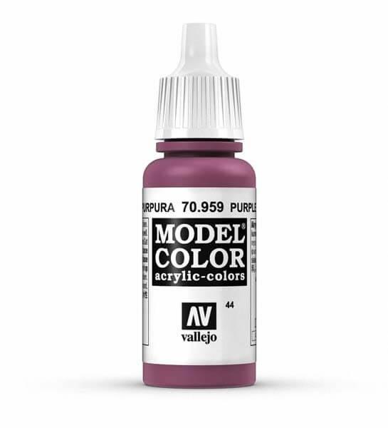 Purple Model Color 17ml Acrylic Paint