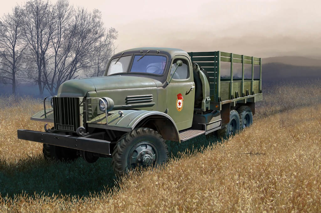 1:35 Russian ZIS-151 Truck Plastic Model Kit