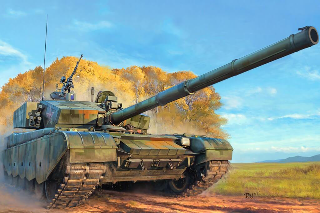 1:35 PLA ZTZ-99A MBT Tank Plastic Model Kit