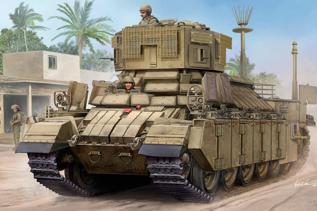 1:35 IDF APC Nagmachon (Doghouse I) Model Kit