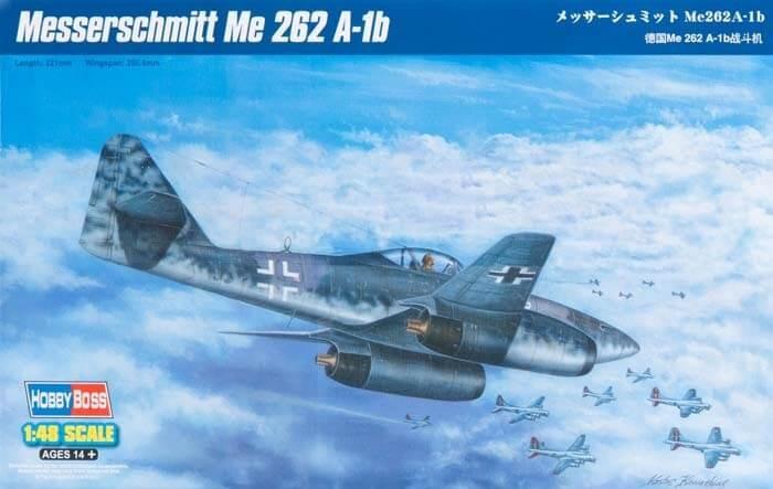 1/48 Messerschmidt Me 262 A-1b Plastic Model Kit