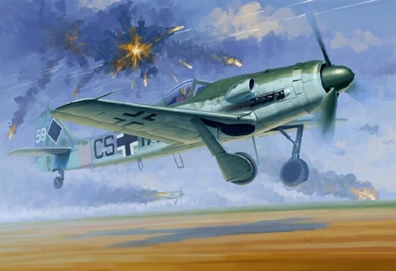 1/48 Focke-Wulf FW190D-12 Plastic Model Kit
